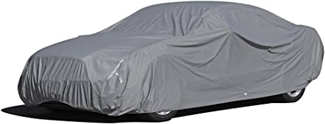 7. OxGord Executive Storm-Proof Car Cover - Water Resistant 7 Layers -Developed for All Conditions