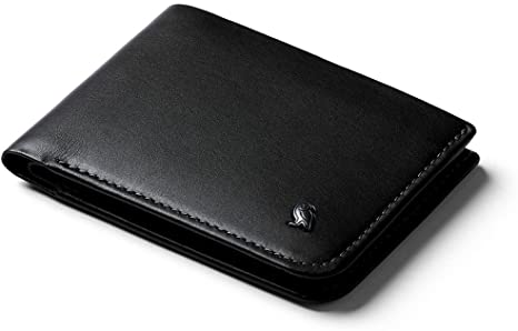 8. Bellroy Hide & Seek Wallet (Slim Leather Bifold Design, RFID Protected, Holds 5-12 Cards, Coin Pouch, Flat Note Section)