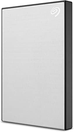 6. Seagate Backup Plus Slim 2TB External Hard Drive Portable HDD – Silver USB 3.0 For PC Laptop And Mac
