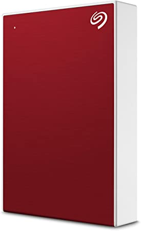 10. Seagate Backup Plus Portable 4TB External Hard Drive HDD – Red USB 3.0 for PC Laptop and Mac