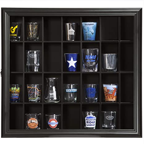 Top 10 Best Shot Glass Display Cases With Glass Door in 2020 Reviews