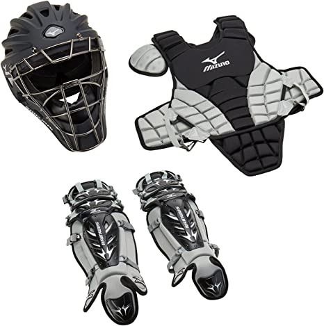 4. Mizuno Youth Samurai Box Set (Black/Grey)