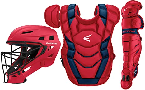 2. EASTON ELITE X Baseball Catchers Equipment Box Set, 2021, Helmet, Chest Protector