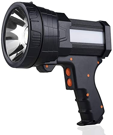 1. YIERBLUE Rechargeable spotlight